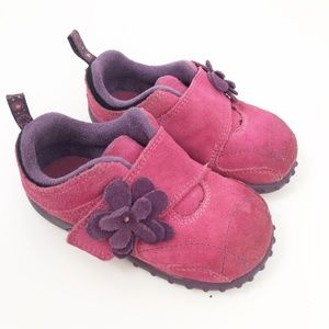 Merrell Jungle Moc Strap Toddlers Mary Jane Suede